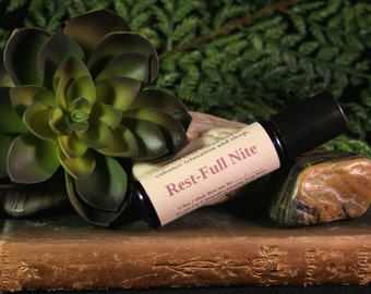REST-FULL NITE: 100% Pure, Natural, Essential Oil Blend For Sleep and Relaxation.