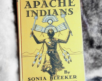 The Apache Indians:  Raiders of the Southwest, by Sonia Bleeker