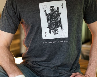 One Eyed Jacks Are Wild board game t-shirt