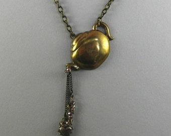 Little Tippy Teapot necklace