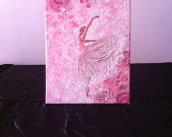 Pink Ballet flat