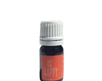 Be Happy Essential Oil Blend, 100% Pure Essential Oils, Safe for Kids, Organic