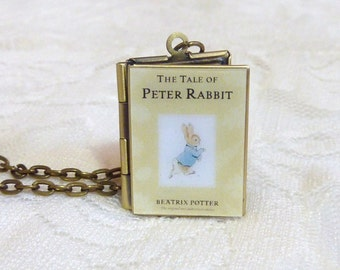Tale of Peter Rabbit Story Locket