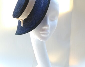1930s 1940s style saucer hat
