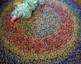 Jumbo Crochet Area Rug