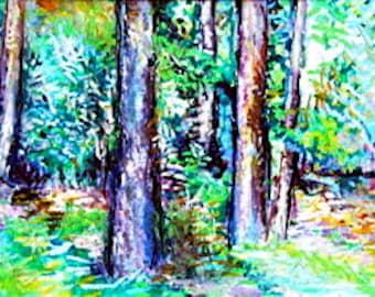 Original water color prints