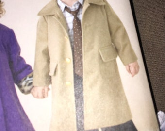 Infant/toddler Dr. Who style coat