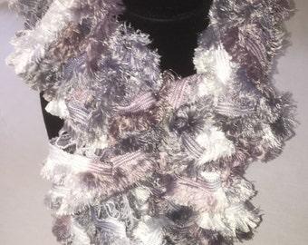 Sashay Fringe Misty scarf, ruffle scarf, scarfs