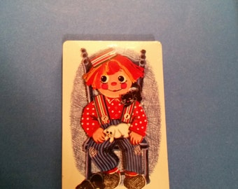 Raggedy Andy playing card deck