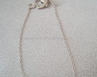 """Silver """"Wing of Angel"""" end Amphea bracelet"""