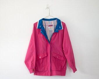80s Vintage Jacket, Pink, Izzi Coat