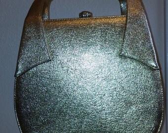 Vintage Gold Berne' Handbag