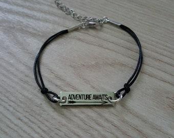 Adventure Awaits Cord Bracelet