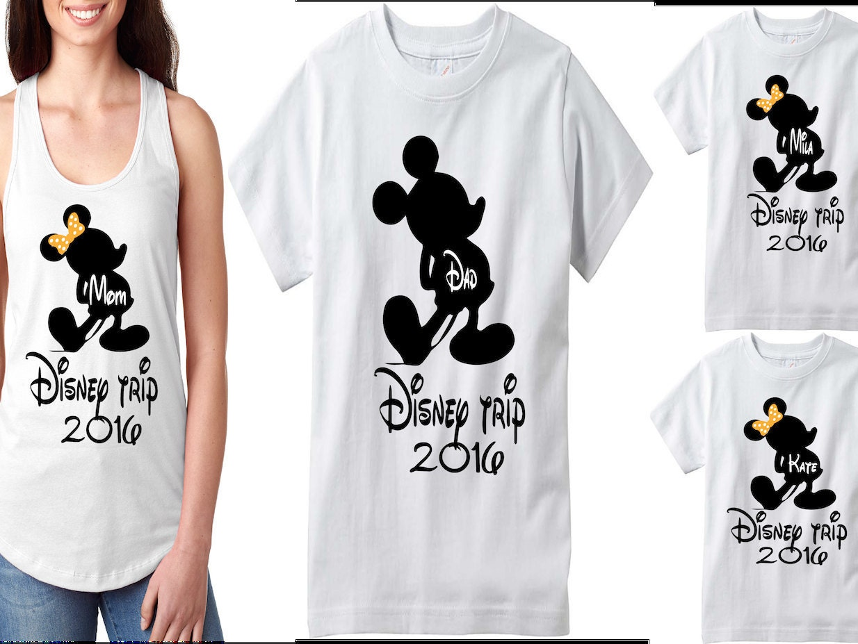 Disney family shirts matching family t shirts disney tank for Custom t shirts family vacation