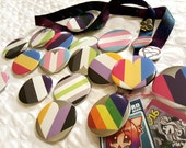 PRIDE Button Pins - 11 Flags!