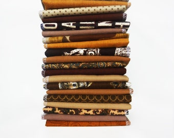 20 Brown Cloth Napkins - Cloth Reusable Paper Towels - Unpaper Towels - Flannel Napkins - Eco Friendly - Paperless - 10 x 12 cb