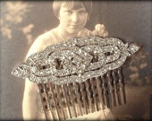 Bridal Hair Comb, Art Deco Wedding