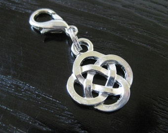 Celtic Knot Journal Charm