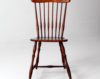 antique windsor chair, fan back windsor chair