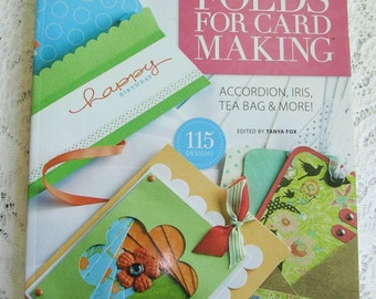 Card Making Tutorial - Fabulous Fold for Cardmaking - Teabag Fold Cards - Handmade DIY Cards - Scrapbooking - Card Patterns