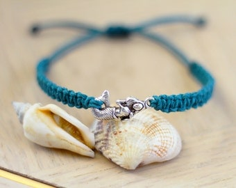 Little Mermaid Bracelet - Hemp Bracelet - Hemp Jewelry
