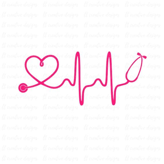 Heartbeat SVG Nurse SVG Doctor SVG Healthcare Svg