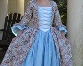 Girls Colonial Dress