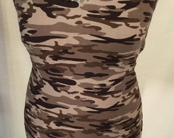 Military style Maxi dress size large