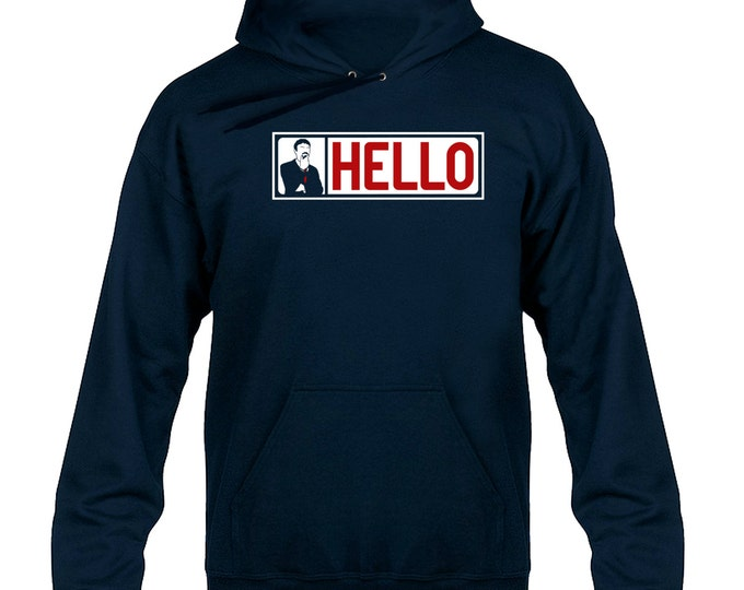 Ashens HELLO Banner Hoody Hoodie Hooded Sweater