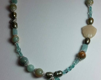 Seashells and Summer Necklace