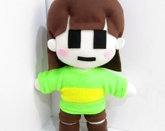 Chara Plush Inspired by Undertale (Unofficial) Huggable Size!!