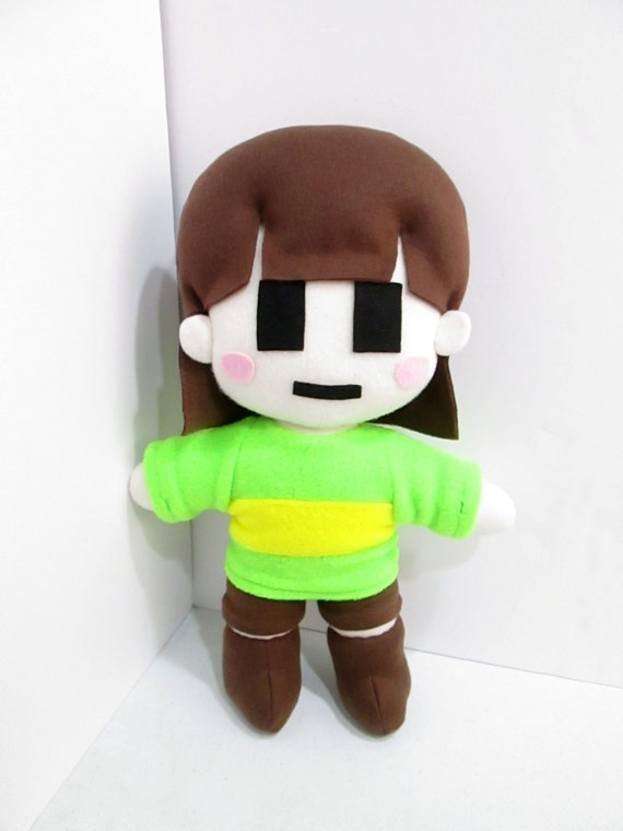 Chara plush inspired by undertale unofficial huggable size