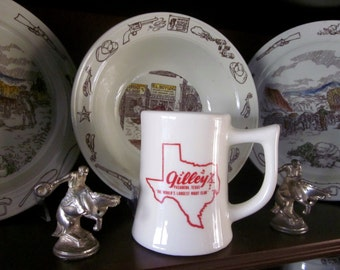 Gilley's Mug Pasadena Texas Honky Tonk Urban Cowboy
