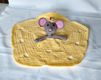 Mouse Lovey/Security Blanket