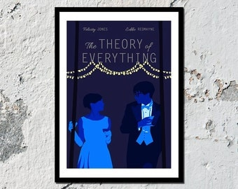The Theory of Everything high quality film print (A5, A4, A3)