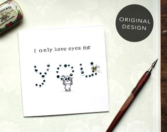 Valentine Card, Love Card, I love you card, Funny Love Card, Cute Anniversary Card, Love Pun Card, Card for Girlfriend, Romantic Card, CP13