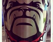 Georgia Bulldog Decal