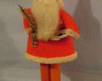 Small Felt Clothed Santa