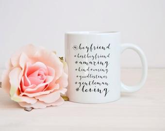 funny @boyfriend mug, #boyfriend mug, boyfriend quote mug, funny romantic quote mug, Funny boyfriend mug, Anniversary Gift for Boyfriend