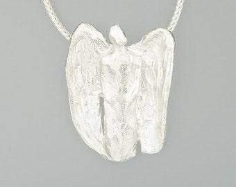 925 sterling silver Angel pendant