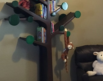 TREE BOOKSHELF - Beautiful handcrafted kids room bookcase