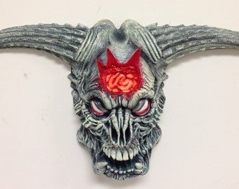 DOOM Icon of Sin Demon Resin cast fully painted wall decor