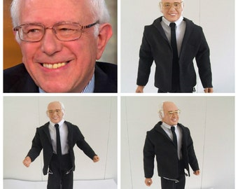 Bernie Sanders Action Figure, One of a Kind