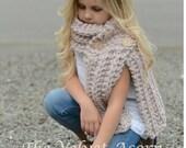 Knitting PATTERN-The Eavan Scarf (Small, Medium, Large sizes)