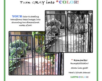 PDF DOWNLOAD Come, Color My Garden 30 Grayscale images for you to color