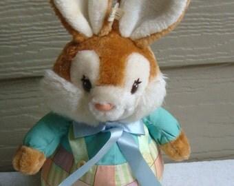 Vintage 1989 American Greetings Bloomer Bunny Plush Toy