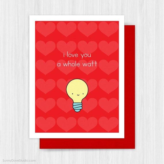 Cute handmade love cards for him