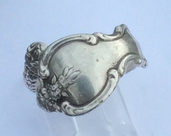international silver spoon ring sterling