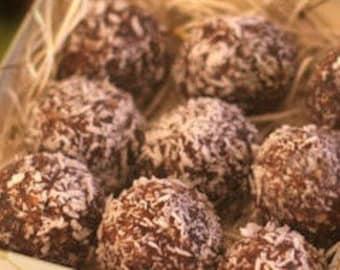 Vegan truffles your choice of flavors