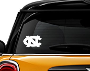 North Carolina decal, Wildcats decal, FREE SHIPPING, vinyl decal, University of NC, sticker decal, home decor decal, college decal #264